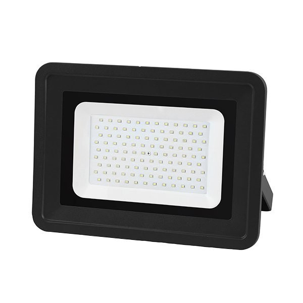 LED-Fluter, 100 W, 8500 lm, schwarz, IP65
