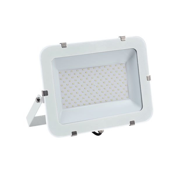 LED-Fluter, 200 W, 24000 lm, slim, weiß, IP65