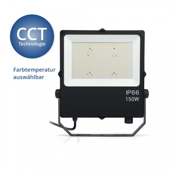 CCT LED Fluter, 150 W, 15.000 lm, 3000K-6000K, IP66