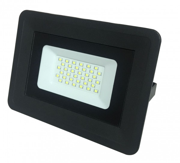 LED-Fluter, 50 W, 4250 lm, schwarz, IP65